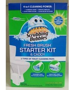Scrubbing Bubbles Fresh Brush Starter Kit and Caddy New - $59.40