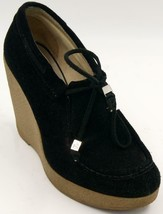 Michael Kors Rory Bootie Wedge Lace-Up Ankle Boots Women's Shoes Sz 7 M EUC - $38.47