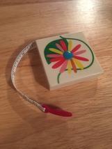 1980s Pylones Flower design measuring tape
