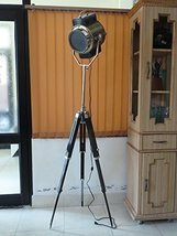 Nautical Studio Floor Search Light-lamp Vintage Antique Look Replica Style By Na - $187.11