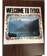 Lp 33 Record Welcome To Tyrol Product Of CBS Music Album Musica - $4.26