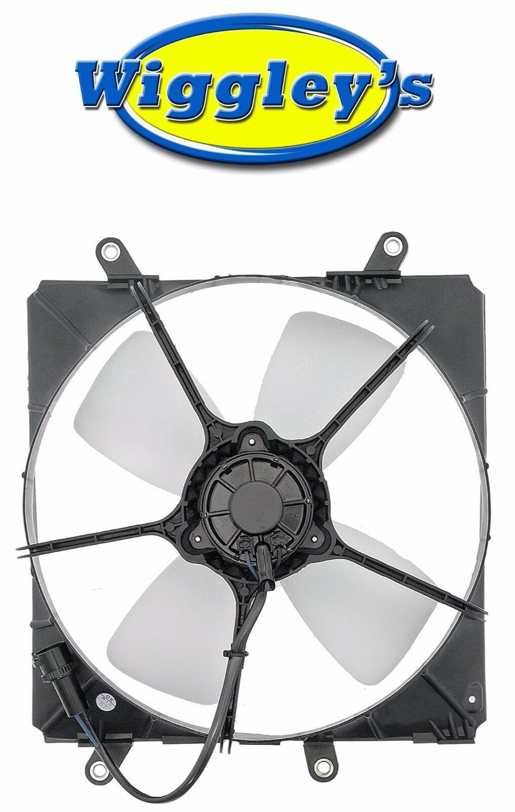 A/C CONDENSER FAN ASSEMBLY TO3113107 FITS 87 88 89 90 91 TOYOTA CAMRY 2.0L-L4