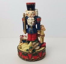 """Holly Tree Musical Nutcracker Christmas 9 1/4"""" Figure Toy Solider Tested... - $15.72"""