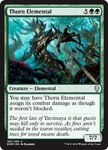 MTG x4 Thorn Elemental Dominaria Uncommon Green NM/M Magic the Gathering - $0.77