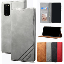 For Samsung S20/S10/S9/A51/A71/A21s/A50 Leather Magnetic Flip Cover Case - $46.24