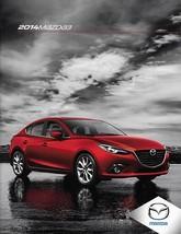 2014 Mazda 3 MAZDA3 brochure catalog 14 US i s Grand Touring - $6.00