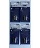 Kobalt S2 Steel 2-Pack 1-in x 1/4-in Shank Square/Robertson Screwdriver ... - $11.23