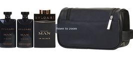 Bvlgari Man Black Gift Set for Men - $78.99