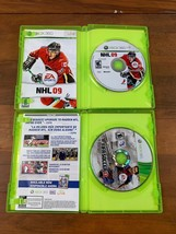 Xbox 360 5 Game Lot NHL FIFA Madden NBA Video Game Bundle Tested image 2