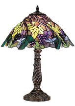 22 Inch H Spiral Grape Table Lamp - $558.09