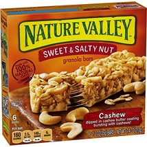 Nature Valley Granola Bars, Sweet and Salty Nut, Cashew, 7.4 Ounce (Pack... - $8.99