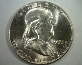 1955 BUGS BUNNY FRANKLIN HALF DOLLAR CHOICE UNCIRCULATED / GEM CH. UNC. ... - $65.00