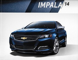 2014 Chevrolet IMPALA sales brochure catalog 1st Edition US 14 Chevy LS ... - $6.00