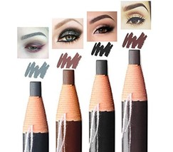 Eyebrow Pencil Long Lasting Waterproof Easy To Color Durable Peel Off Pu... - $13.34