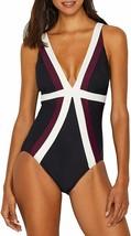 MIRACLESUIT Multi Plus Size Spectra Trilogy One piece Swimsuit, US 20W, ... - $132.17