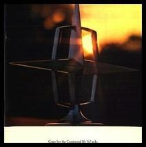 1967 Lincoln Continental Dlx Brochure - $14.24