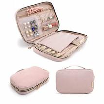BAGSMART Travel Jewelry Storage Cases Jewelry Organizer Bag for Necklace... - $36.23