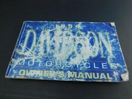 1994 Harley-Davidson Owner's Manual  All models - $11.99