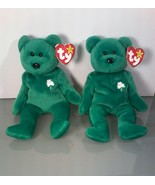 Two Extremely Rare Beanie Babies~ Erin~ With Errors and Rarities - $13.85