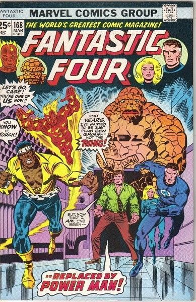 Primary image for The Fantastic Four Comic Book #168 Marvel Comics 1976 VERY FINE