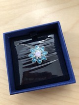 NIB Swarovski Adorn Pendant 5037568 Azore Blue Multicolor Necklace NWT $100 - $45.77