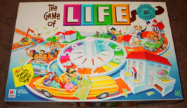 LIFE GAME OF LIFE 40TH ANNIVERSARY EDITION 1999 MILTON BRADLEY HASBRO CO... - $20.00