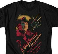 A Nightmare On Elm Street t-shirt Freddy Krueger slasher film graphic tee WBM556 image 3