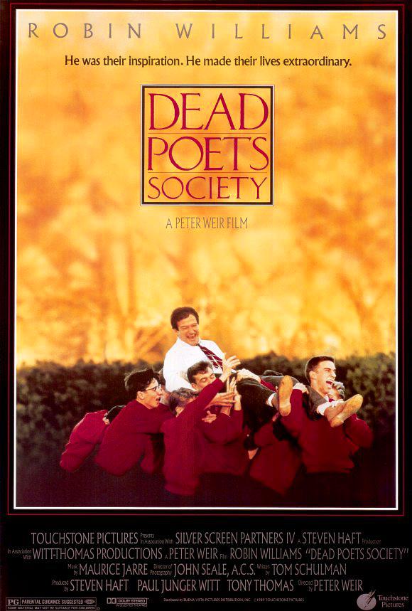Dead poets society movie poster 1989