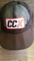 Vintage CCX Trucker Hat Cap Conway Central Express Snapback -Made in USA - $14.84