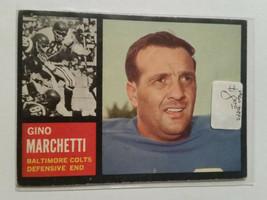 1962 Topps #8 Gino Marchetti Team: Baltimore Colts - $6.89