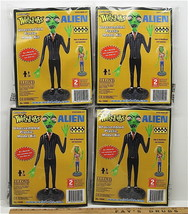 4 Weird Ohs Alien 2010 Hawk Static Plastic Model Kits #15995 I:6 Scale Lindberg - $33.65