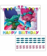 Trolls Movie Pin the Nose on Poppy and Branch Birthday Party Game - $22.28