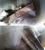 White Tulle Midi Skirt Women Knee Length White Tutu Skirt Outfit Street Style image 11