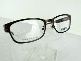 Fossil Sheldon (O1C2) Brown 53 X 18 135 mm Eyeglass Frames Eyewear - $47.96