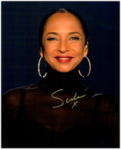 SADE Signed Autographed Photo w/ Certificate of Authenticity 440 - $145.00