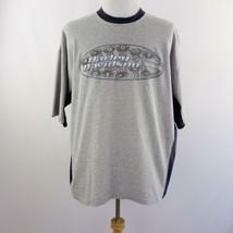 Harley Davidson Medina OH Gray Graphic T Shirt Mens Sz 2XL USA - $24.09