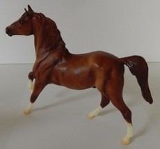 Breyer Molding Horse Chestnut Stallion White Muzzle Stripe Brown Mane St... - $29.69