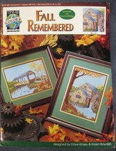 FALL REMEMBERED Counted Cross Stitch Pattern Leaflet True Colors Grist M... - $5.50