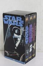 Vintage STAR WARS Trilogy VHS 3 Tape Set Original Remastered - $142.50