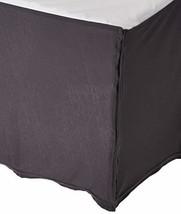 SheetWorld - MINI Crib Skirt 24 x 39 - Silver Grey Jersey Knit - Made In... - $63.48