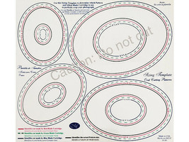 Creative Memories Custom Cutting System Oval Patterns image 2