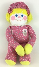 "Fisher Price Crib Friend Pink Rattle Doll 12"" Plush Stuffed Toy Vintage ... - $24.70"
