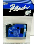 Brother Tape Cassettes P-Touch Laminated Labels 1pcs TC-22 Blue On White! - $5.55