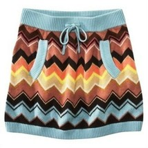 Missoni for Target GIRLS Knit Sweater Skirt w/ pockets - Blue Colore Che... - $48.02