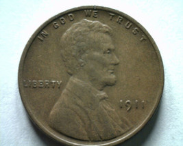 1911 LINCOLN CENT PENNY ABOUT UNCIRCULATED AU NICE ORIGINAL COIN BOBS COINS - $13.00