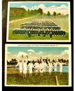 2 1930's U.S. Navy POSTCARDS Sailors Jackies Chessler Co. Berkley Norfol... - $19.99
