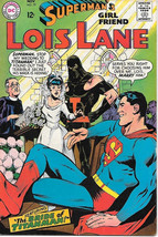Superman's Girlfriend Lois Lane Comic Book #79, DC Comics 1967 FINE+ - $24.11