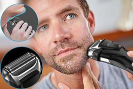 Electric Shaver with Pop-up Trimmer for Men, Men's Electric Razor Cordless Foil  image 7