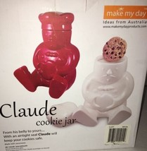 Make My Day Claude Cookie Jar-White-Ideas From Australia-New-SHIPS N 24 ... - $48.38