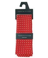 Tommy Hilfiger Men's Color Dot Silk Pocket Square in Red - $24.75